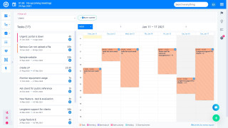 Easy Redmine 2018 - New & mobile design - personal dashboard