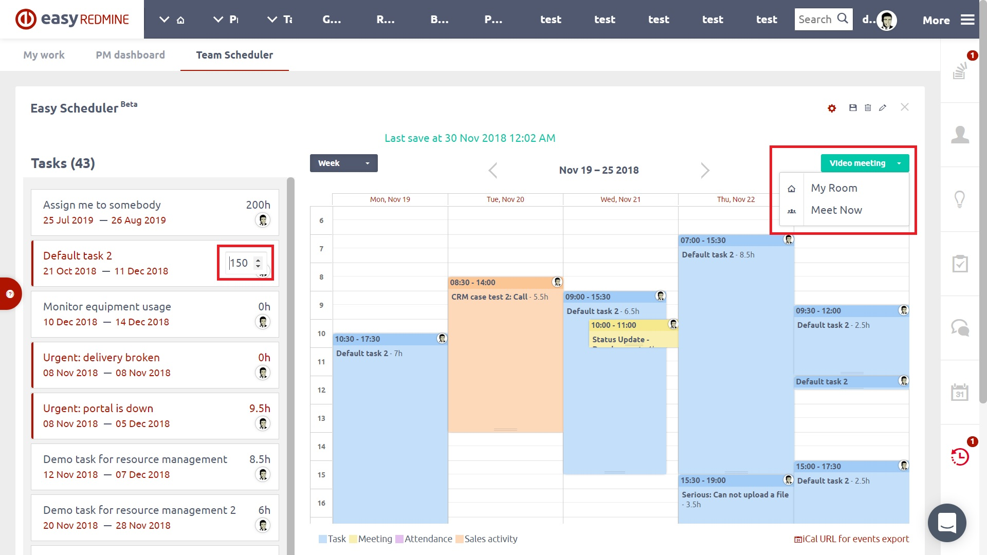 Advanced Project Management - Easy Redmine